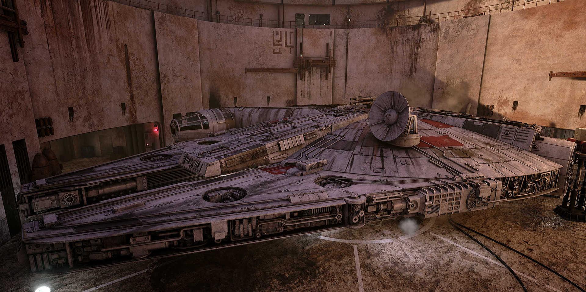 Создание сцены из Star Wars в Unreal Engine 4 - 15