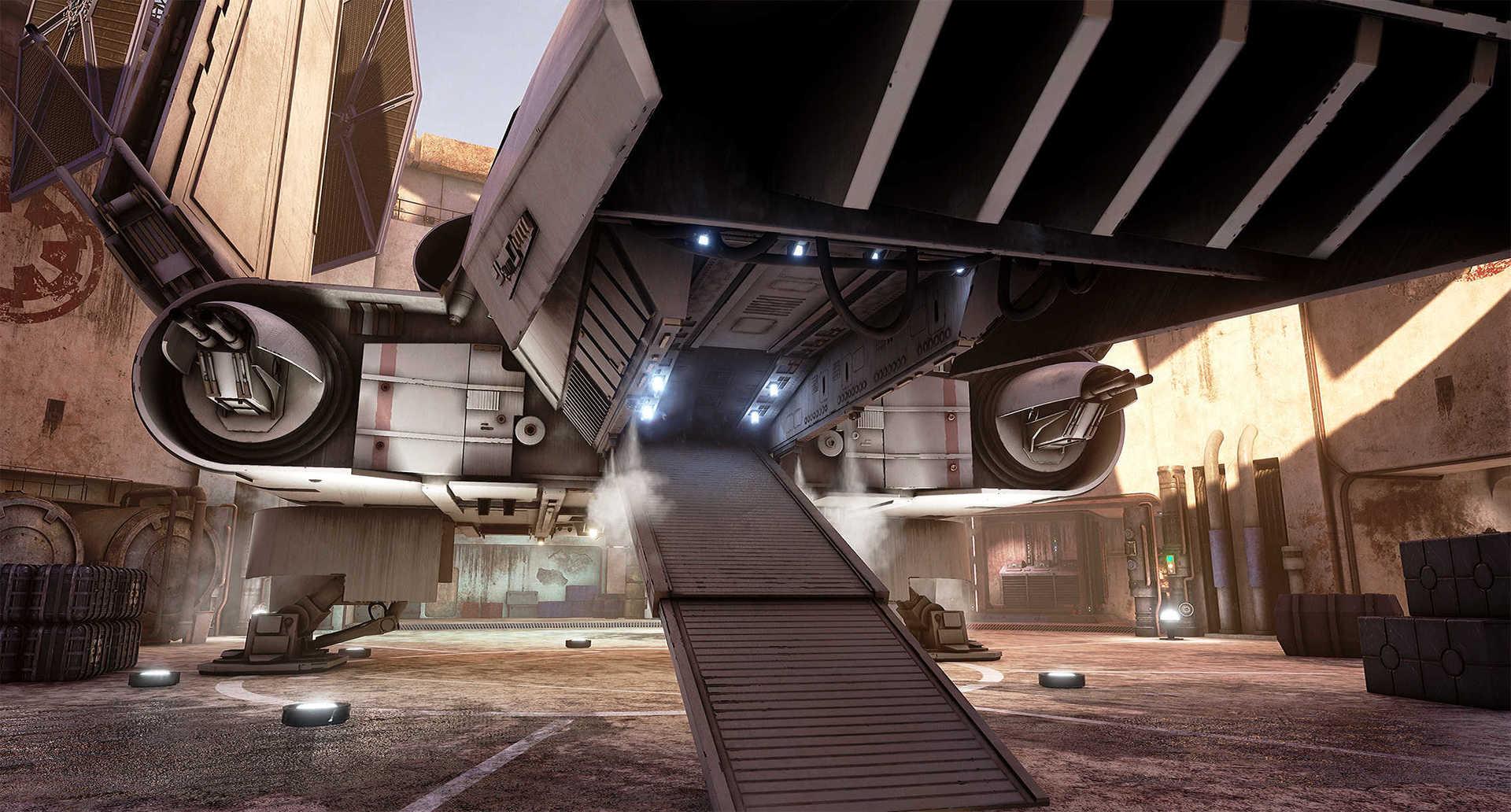 Создание сцены из Star Wars в Unreal Engine 4 - 17