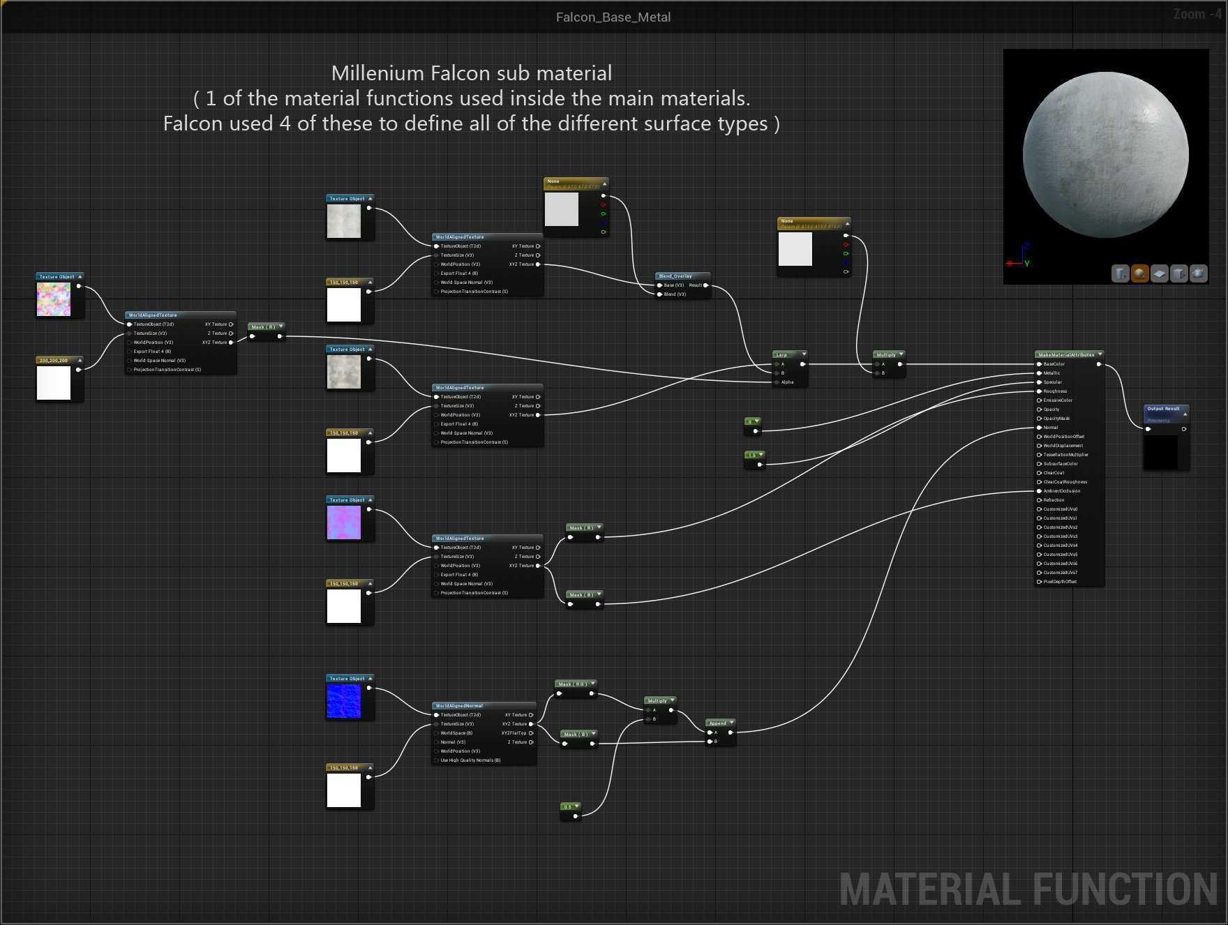 Создание сцены из Star Wars в Unreal Engine 4 - 18