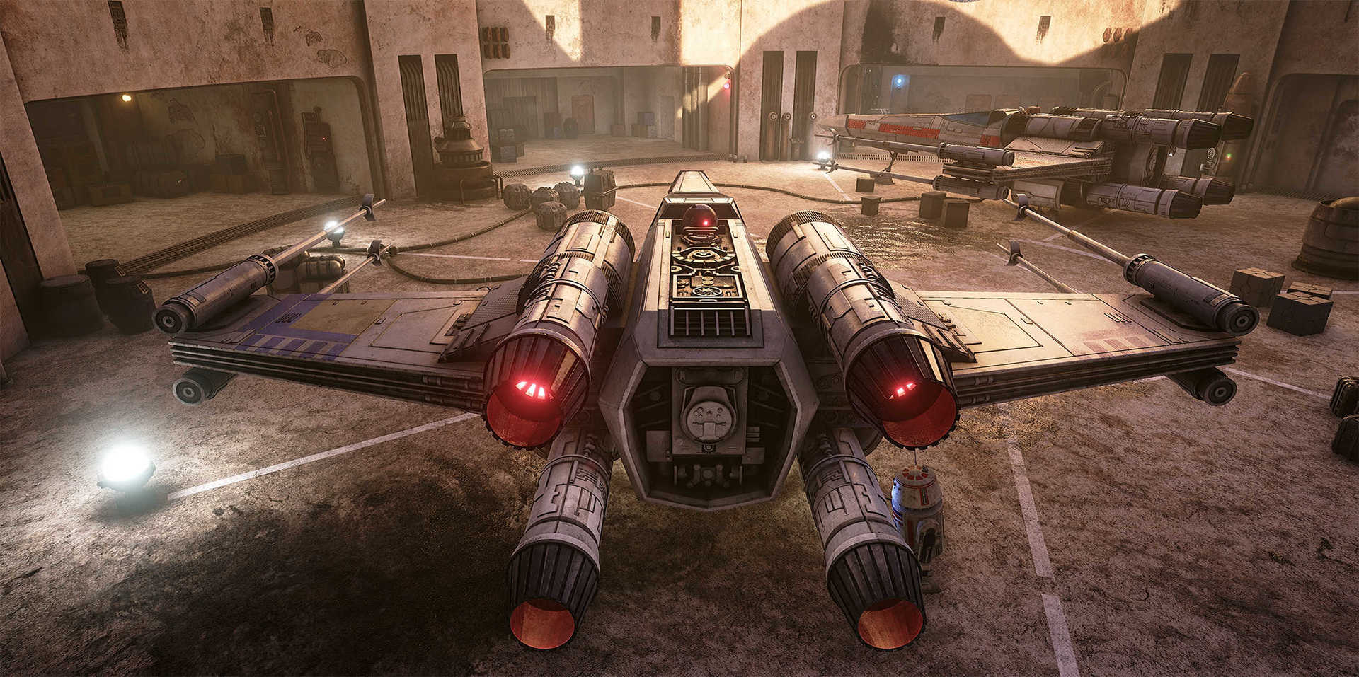 Создание сцены из Star Wars в Unreal Engine 4 - 2
