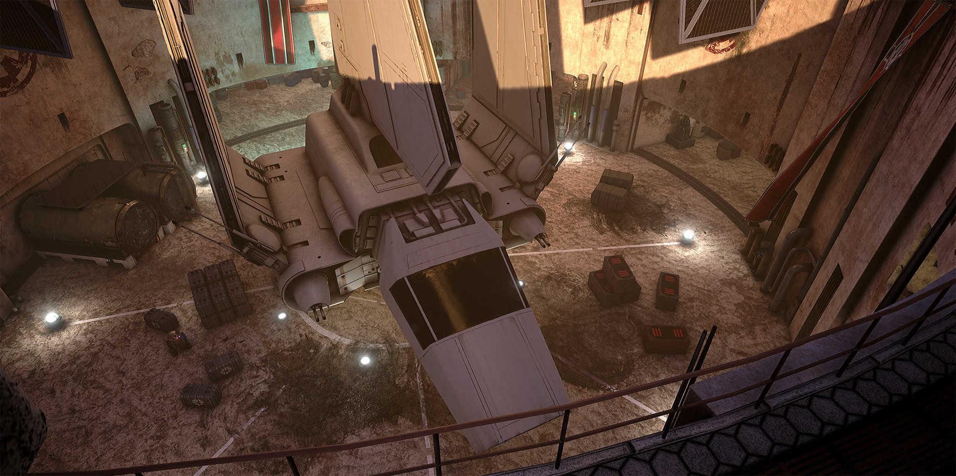Создание сцены из Star Wars в Unreal Engine 4 - 26