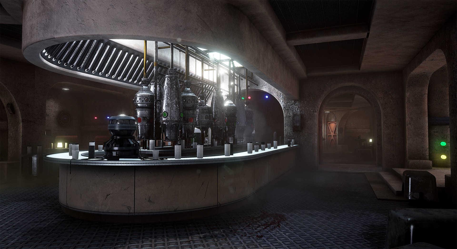 Создание сцены из Star Wars в Unreal Engine 4 - 28