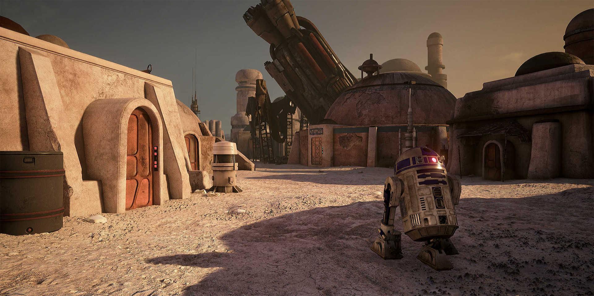 Создание сцены из Star Wars в Unreal Engine 4 - 29