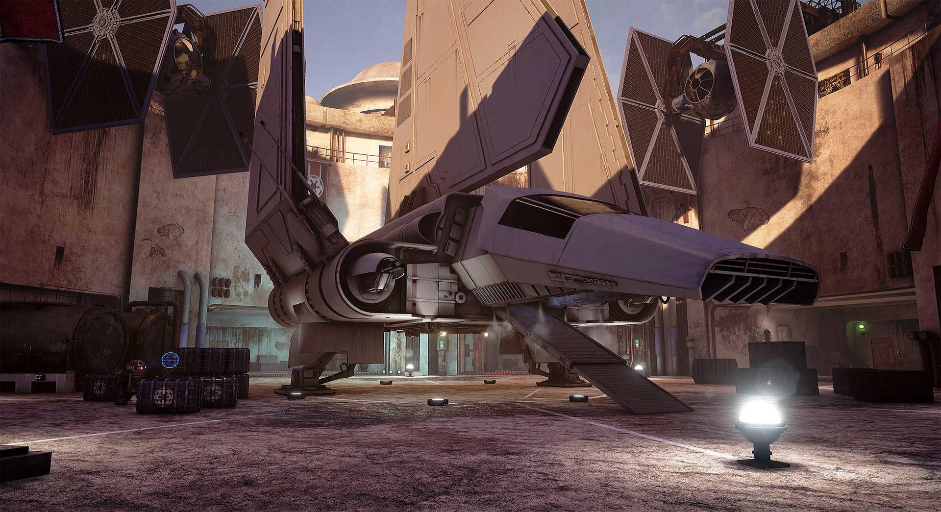 Создание сцены из Star Wars в Unreal Engine 4 - 3