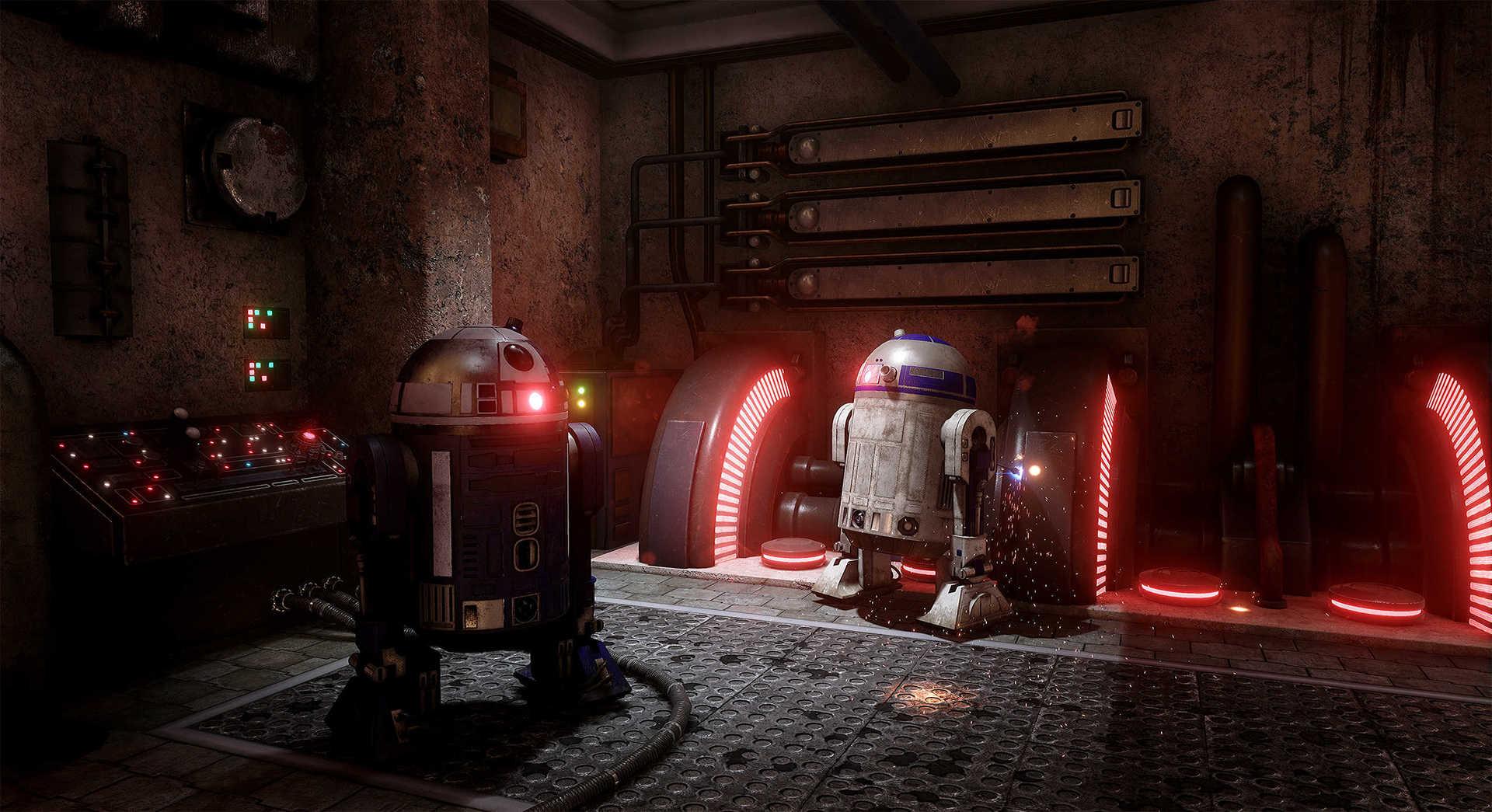 Создание сцены из Star Wars в Unreal Engine 4 - 4