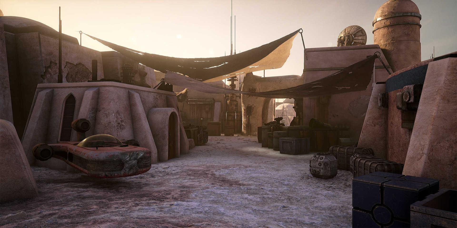 Создание сцены из Star Wars в Unreal Engine 4 - 6