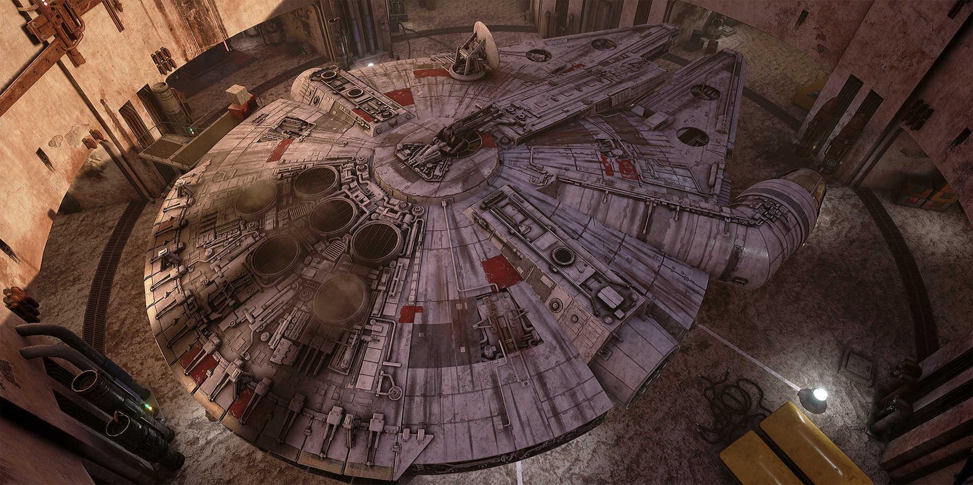 Создание сцены из Star Wars в Unreal Engine 4 - 7