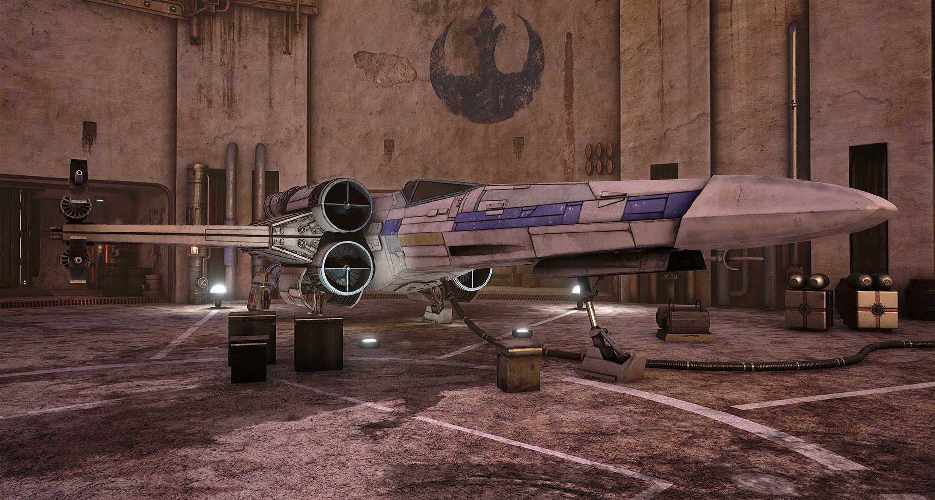 Создание сцены из Star Wars в Unreal Engine 4 - 8