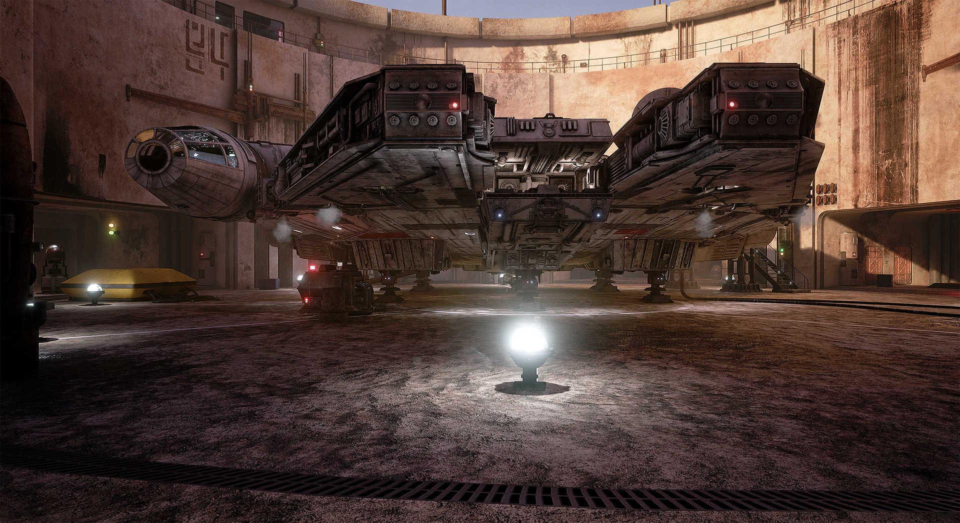 Создание сцены из Star Wars в Unreal Engine 4 - 9