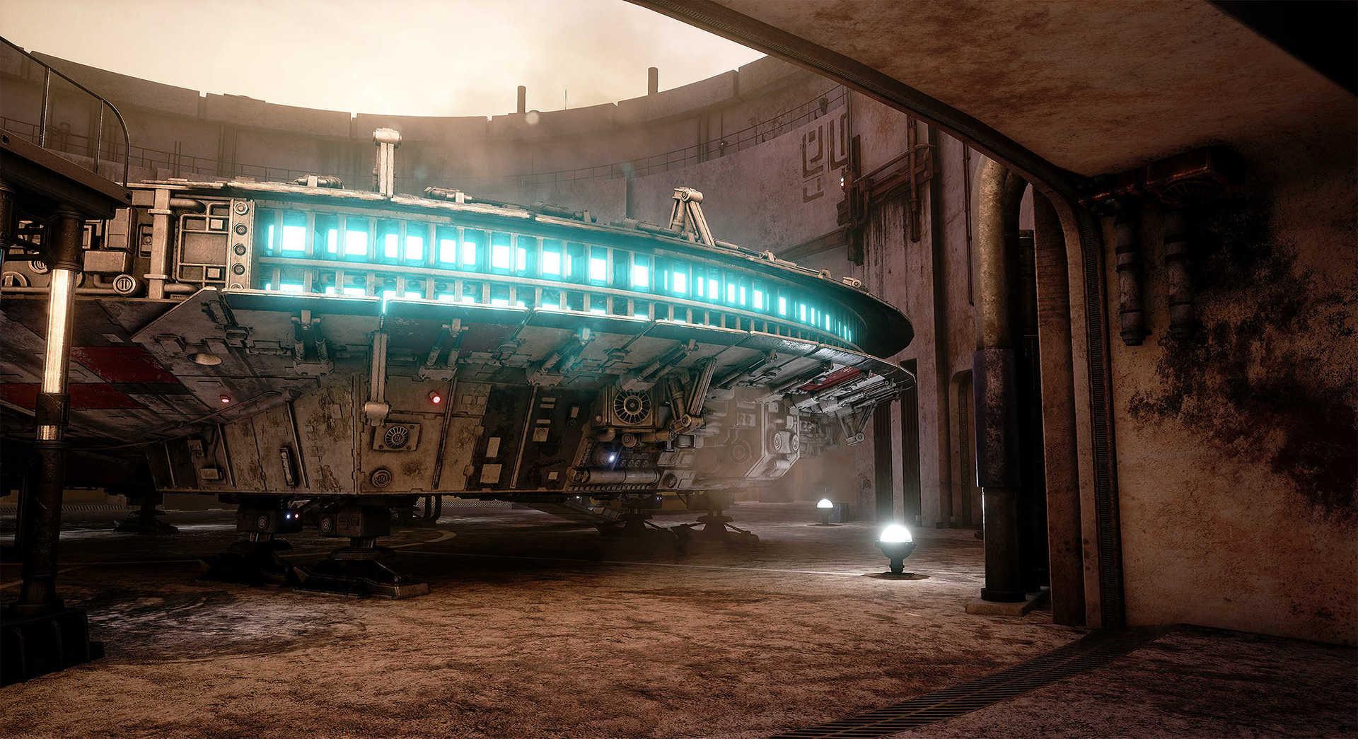 Создание сцены из Star Wars в Unreal Engine 4 - 1