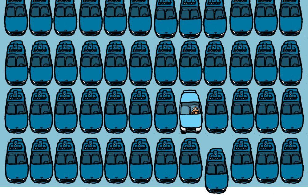 Ваше беспилотное такси прибывает - 1