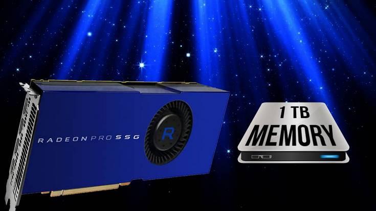 AMD разовьёт идею адаптера Radeon Pro SSG, используя GPU Vega 10