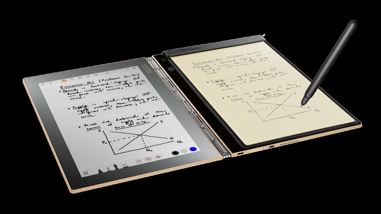 Yoga Book: первый планшет с настоящими записками и набросками - 1