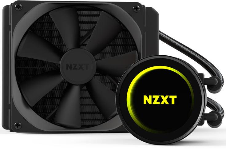 Толщина радиаторов СВО NZXT Kraken X42, X52 и X62 — 30 мм