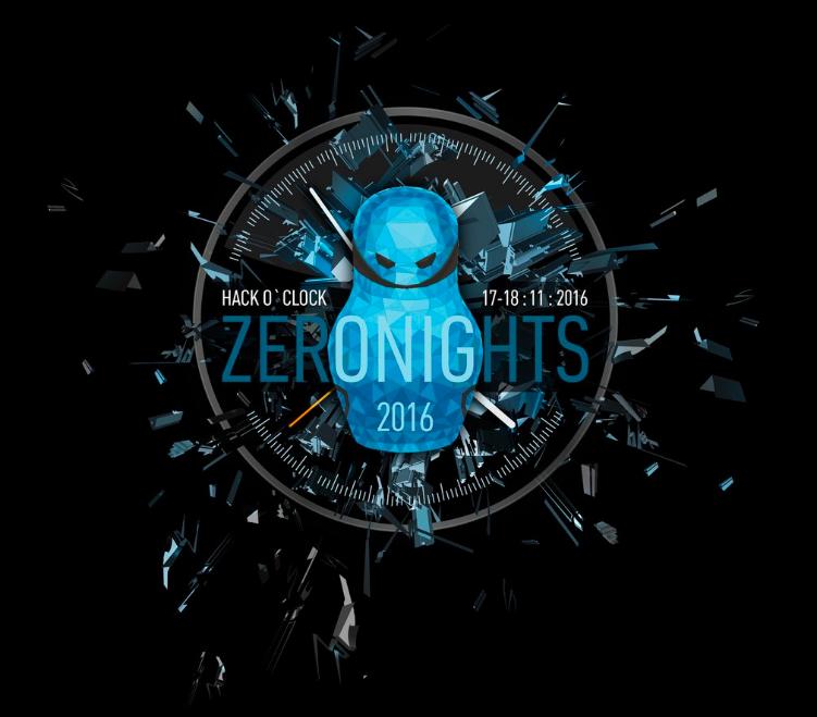 Программа ZeroNights 2016 + анонс HackQuest - 1