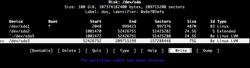 Добавляем места на диске для Linux–сервера в облаке Azure Pack Infrastructure, а заодно и разбираемся с LVM - 16