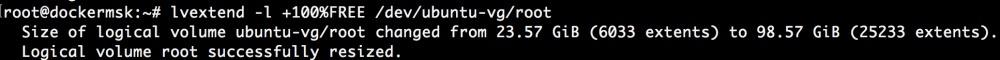 Добавляем места на диске для Linux–сервера в облаке Azure Pack Infrastructure, а заодно и разбираемся с LVM - 23