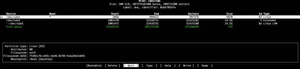 Добавляем места на диске для Linux–сервера в облаке Azure Pack Infrastructure, а заодно и разбираемся с LVM - 9