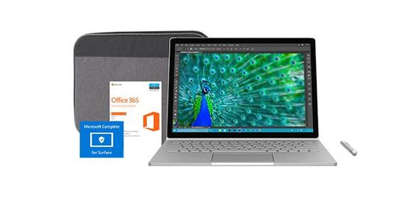 Комплект Microsoft Surface Book подешевел на $260