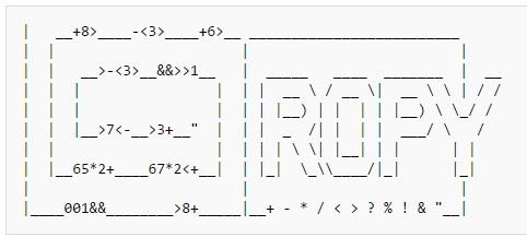 Примеры кода на 39 эзотерических языках программирования - 23