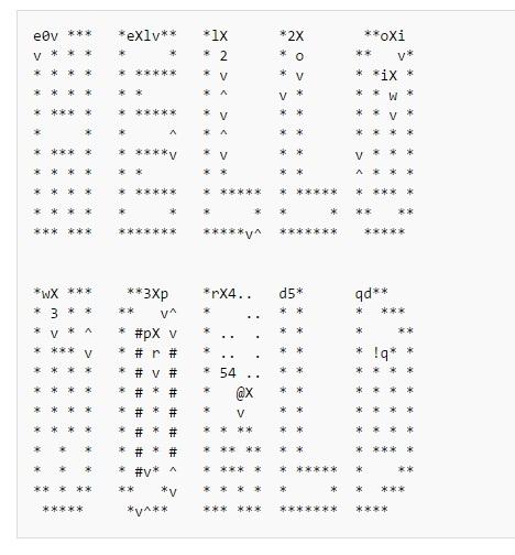 Примеры кода на 39 эзотерических языках программирования - 26