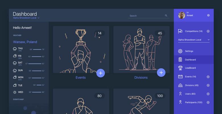 Dribbble обзор №2 — наиболее интересные дизайны интерфейсов за последние 2 недели - 4
