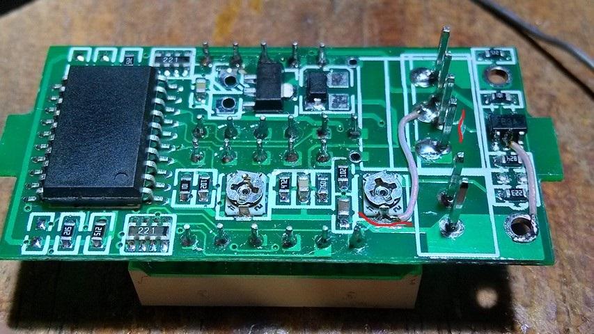 Доработка китайского вольтамперметра WR-005 - 5