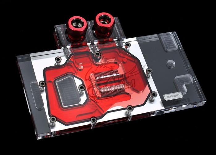 Bykski выпустила водоблок для  GeForce GTX 1050 и GTX 1050 Ti