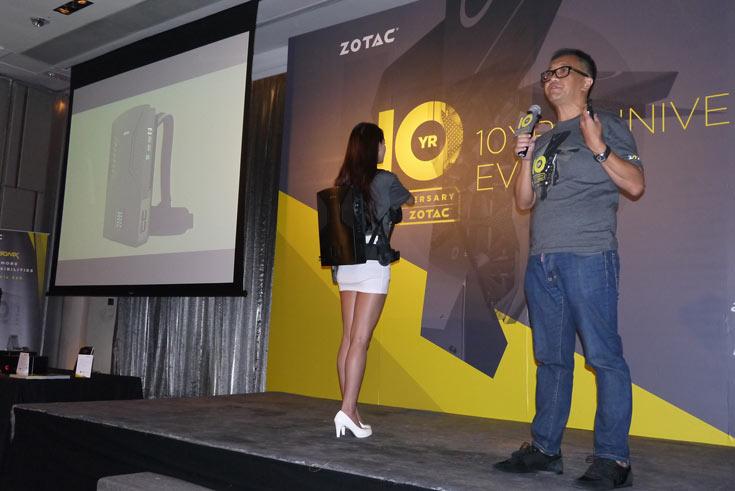 Компания Zotac сегодня провела мероприятие, посвященное 10-летию со дня основания