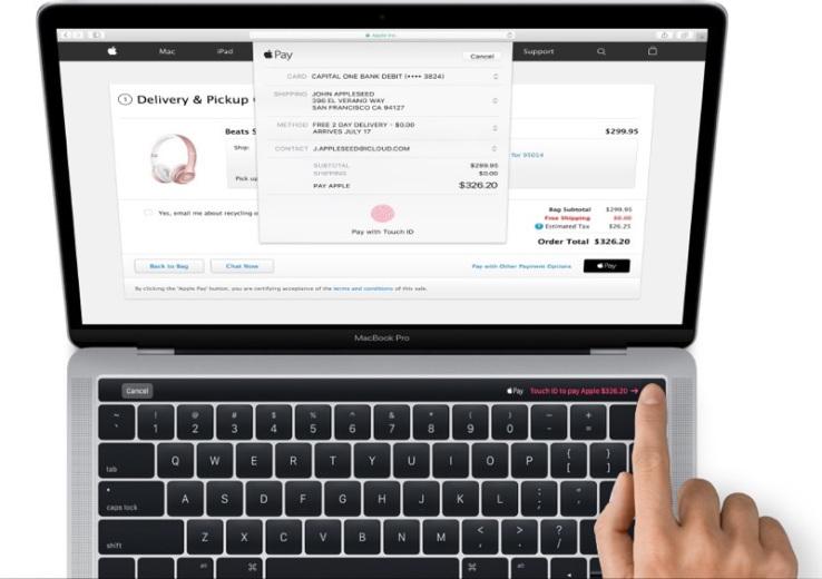 Первый слух: OLED-дисплей и Touch ID в новом Macbook Pro - 1