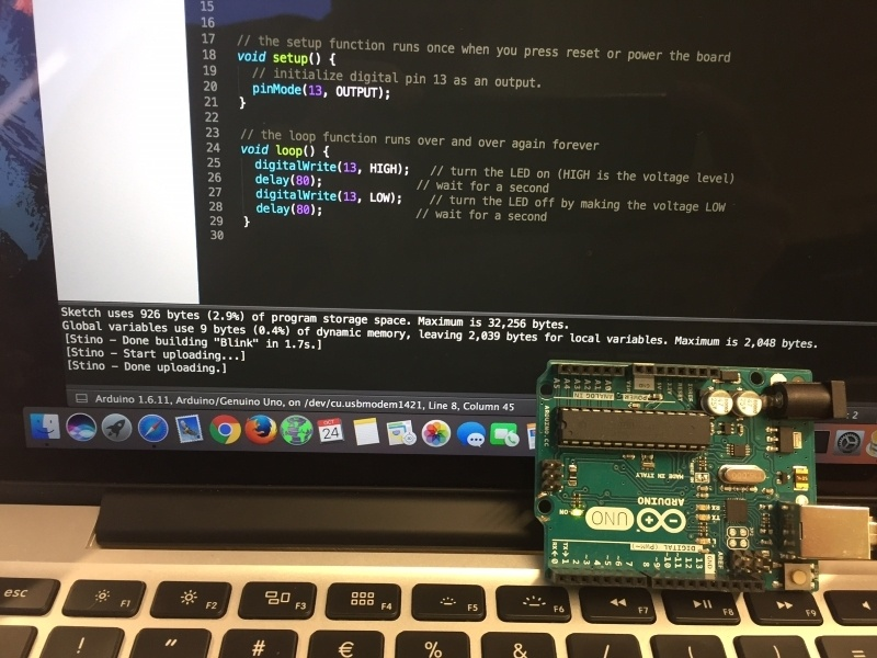 Программируем Arduino с помощью Sublime + Stino на MacOS - 8