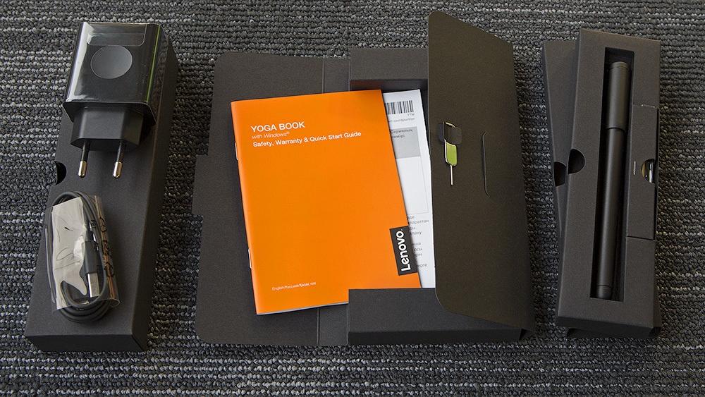 Lenovo Yoga Book: что внутри красивой белой коробки? - 10
