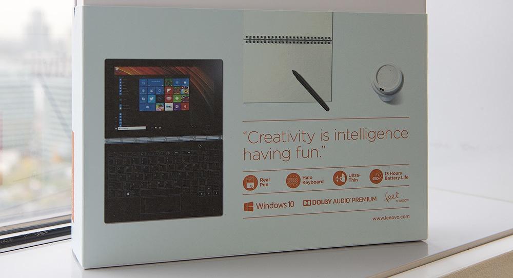 Lenovo Yoga Book: что внутри красивой белой коробки? - 2