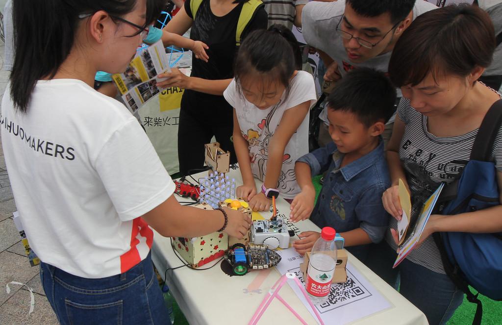 Фотоэкскурсия по выставке MakerFaire 2016 в Шэньчжене, часть 1 - 11