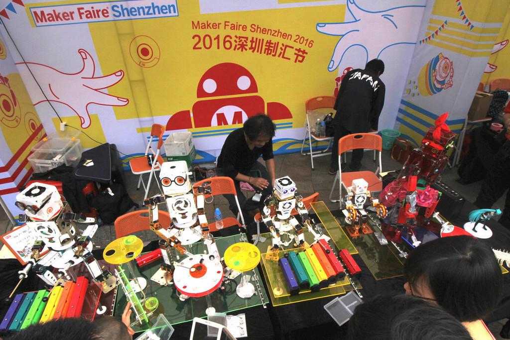 Фотоэкскурсия по выставке MakerFaire 2016 в Шэньчжене, часть 1 - 12