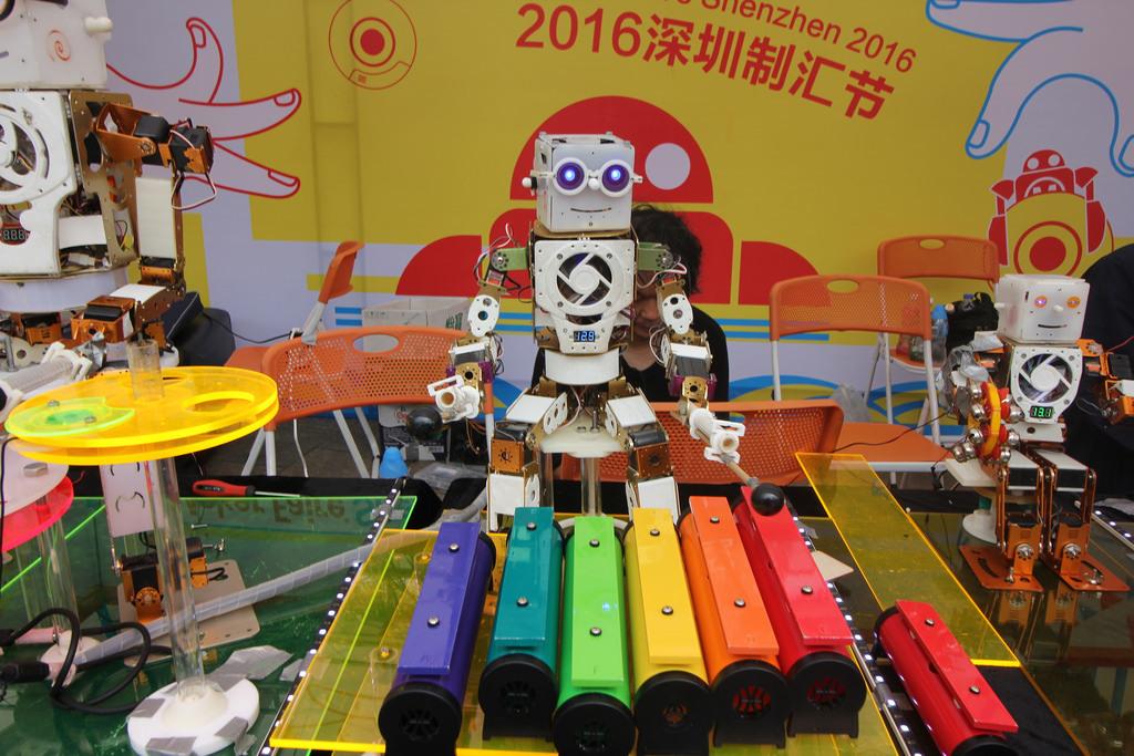 Фотоэкскурсия по выставке MakerFaire 2016 в Шэньчжене, часть 1 - 13