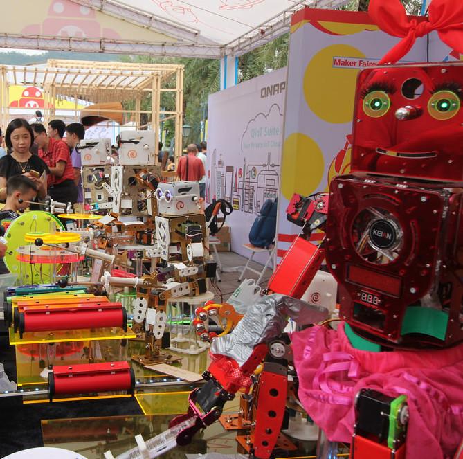 Фотоэкскурсия по выставке MakerFaire 2016 в Шэньчжене, часть 1 - 14