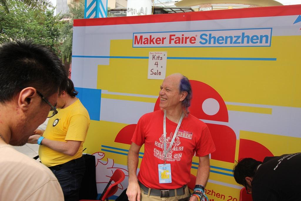 Фотоэкскурсия по выставке MakerFaire 2016 в Шэньчжене, часть 1 - 21