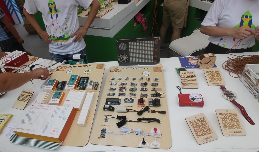Фотоэкскурсия по выставке MakerFaire 2016 в Шэньчжене, часть 1 - 4