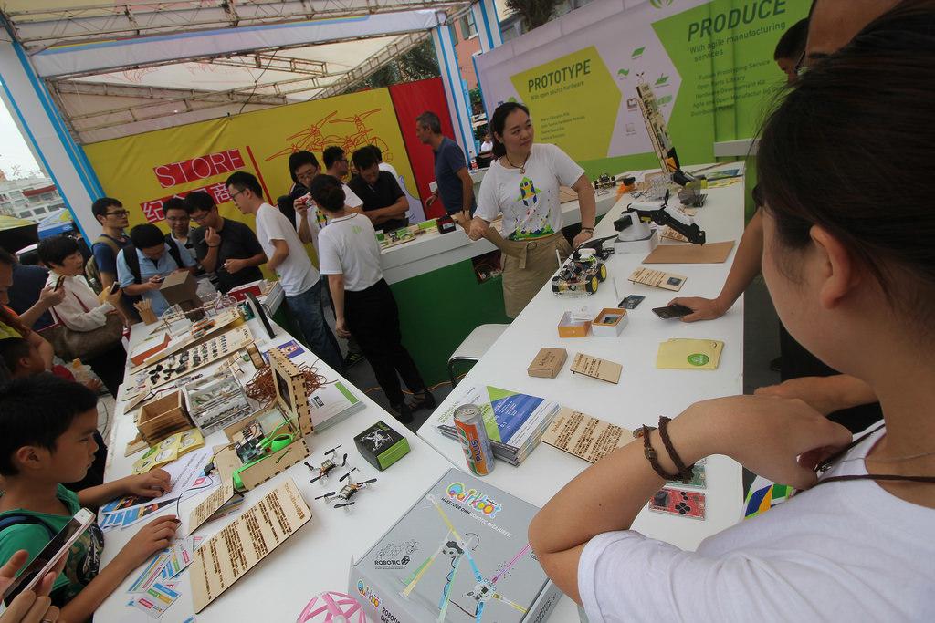 Фотоэкскурсия по выставке MakerFaire 2016 в Шэньчжене, часть 1 - 5