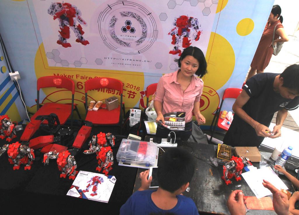 Фотоэкскурсия по выставке MakerFaire 2016 в Шэньчжэне, часть 2 - 11