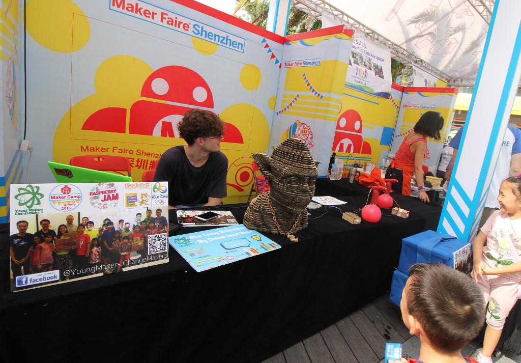 Фотоэкскурсия по выставке MakerFaire 2016 в Шэньчжэне, часть 2 - 28