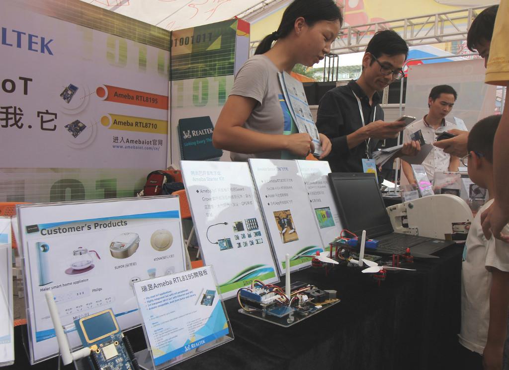 Фотоэкскурсия по выставке MakerFaire 2016 в Шэньчжэне, часть 2 - 8
