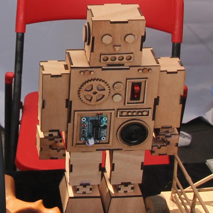 Фотоэкскурсия по выставке MakerFaire 2016 в Шэньчжэне, часть 2 - 1
