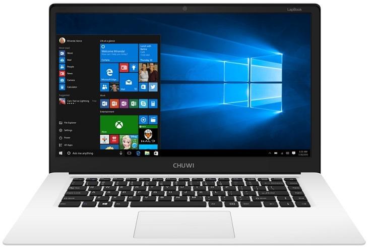 Ноутбук Chuwi LapBook работает на базе SoC Atom x5-Z8300