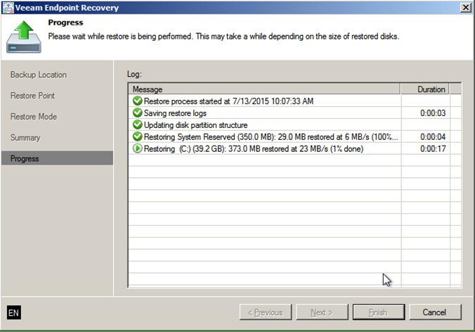 Восстановление контроллера домена из резервной копии с помощью Veeam - 4