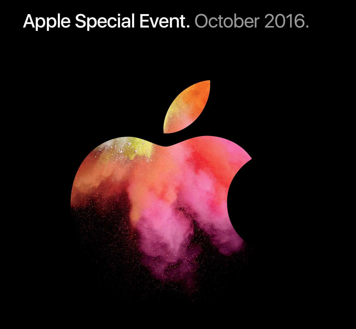 Apple Special Event, октябрь 2016 [архив текстовой трансляции] - 1