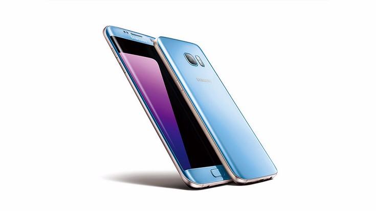 Samsung Galaxy S7 Edge в цвете Blue Coral появится в продаже менее чем через неделю
