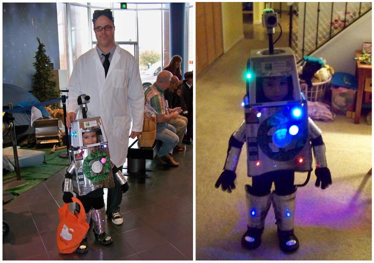 Geek Halloween: необычные DIY-костюмы на Хеллоуин - 8