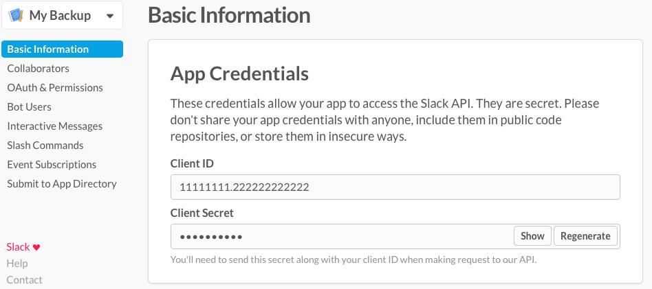 Как развернуть для своей команды архив slack сообщений c синхронизацией и поиском - 5